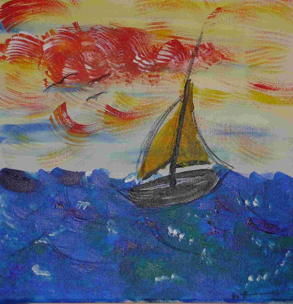 acrylic on canvas